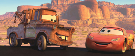 Mator and Lightening McQueen