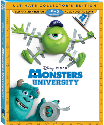 Monsters University: Ultimate Collector's Edition Blu-ray 3D Combo Pack