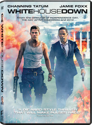 White House Down DVD Cover