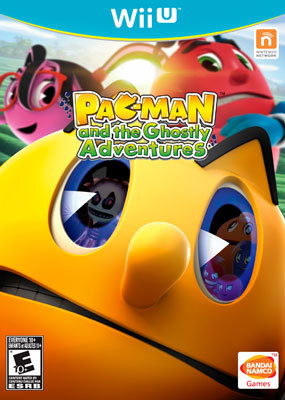 PAC-MAN and the Ghostly Adventures Wii U Box Art