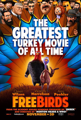 A Free Birds poster