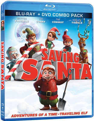 Saving Santa Blu-ray Combo Pack
