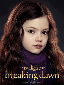 Edward and Bella's daughter Renesmee