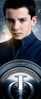 Ender's official cadet picture