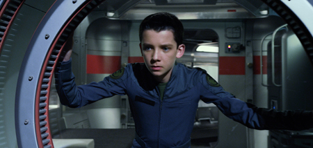 Ender arrives at Battle School