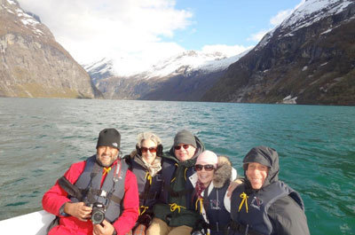 Disney team checks out Norway fjords