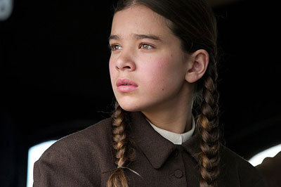 Hailee a few years ago as Mattie in True Grit