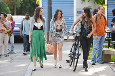 Torian, Lucy and Shay on the show