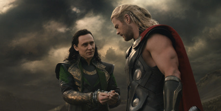Loki and Thor ready to battle Malekith