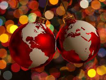 Christmas is celebrated around the world