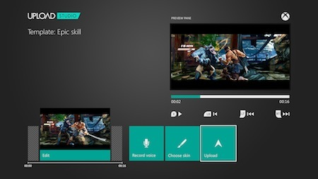 Save, edit and upload with ease on Xbox One