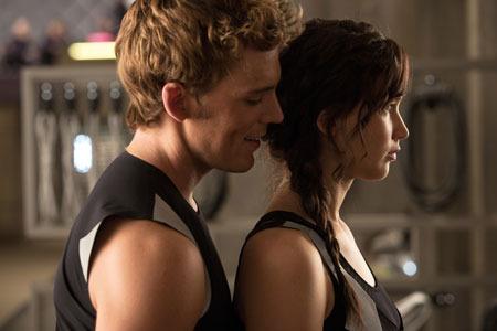 Finnick teases Katniss