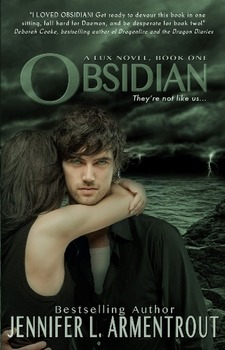 Book Review: Obsidian (Lux, #1) by Jennifer L. Armentrout