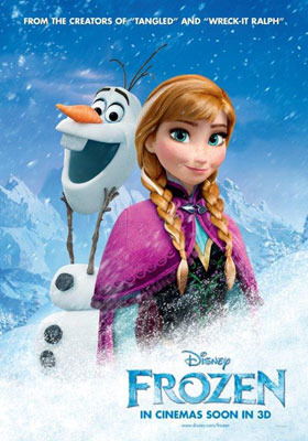 Princess Anna with Snowman Olaf
