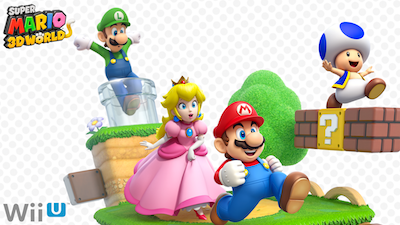 Super Mario 3D World, exclusively on Nintendo Wii U.