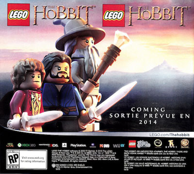 LEGO: The Hobbit - Coming Spring 2014