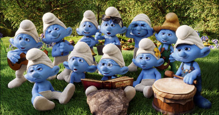 The Smurf Gang