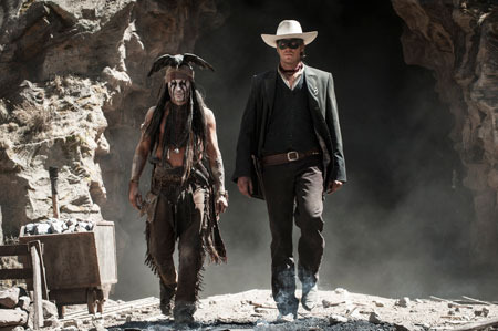 Tonto and the Ranger