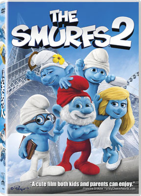 The Smurfs 2 DVD Cover