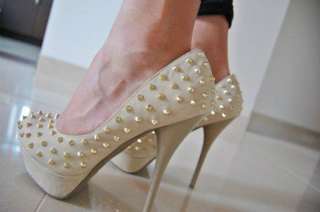 Studs and Spiked Heels