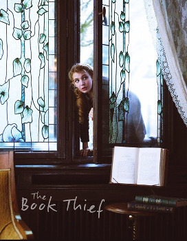 Liesel sneaks into a friend's library to borrow books
