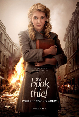 The Book Thief Poster featuring Sophie as Liesel