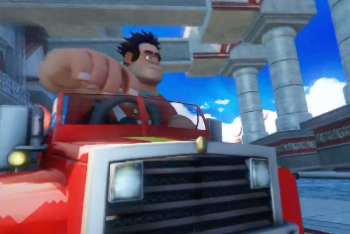 wreck-it ralph sonic and all-stars racing transformed
