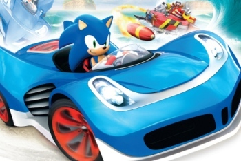 sonic and all-stars racing transformed sonic car