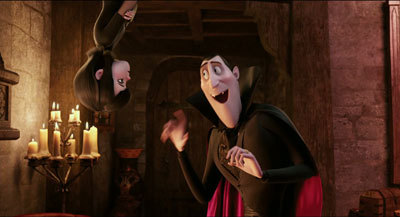 Dracula talks to daughter Mavis