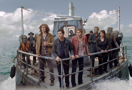 The gang in the Sea of Monsters