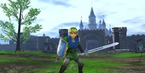 Link, ready for the fight.