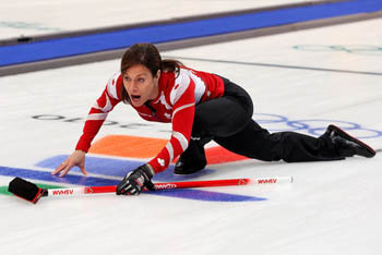 Curling Pose