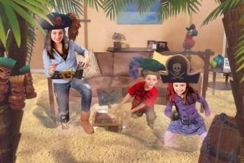 Kinect Party Pirates