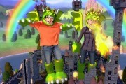 Preview preview kinect party dragons