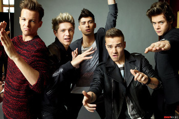 One Direction in Teen Vogue, September 2013