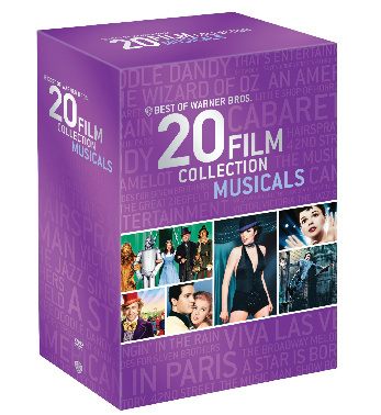 Warner Bros. 20 Film Collection Musicals DVD
