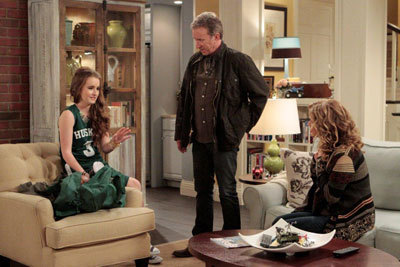 Kaitlyn as Eve with Tim Allen and Nancy Travis