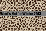 What's Hot for Winter 2013