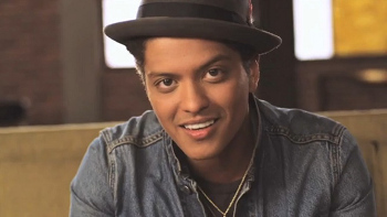"Bruno's ""Just the Way You Are"" is the first track on the CD"