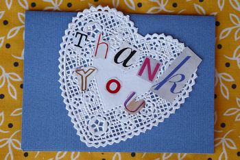 DIY Thank You Notes