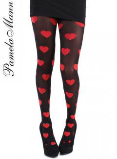 Heart tights, $10