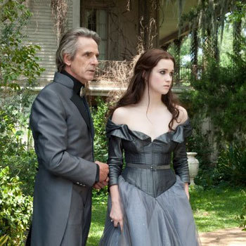 Alice as Lena with Jeremy Irons as Macon