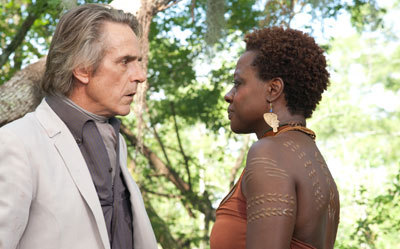 Jeremy Irons as Macon and Viola Davis as Amma