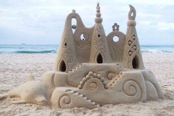 Maybe Sand Castles are Fortresses After All!