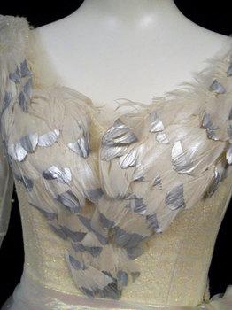 Bodice detail Glinda costume