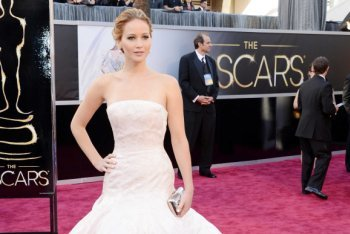 Jennifer Lawrence at the 85th Annual Academy Awards