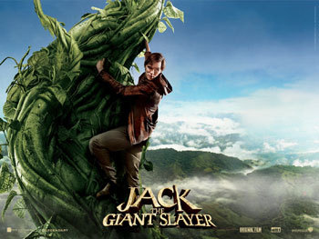 Jack on the giant beanstalk
