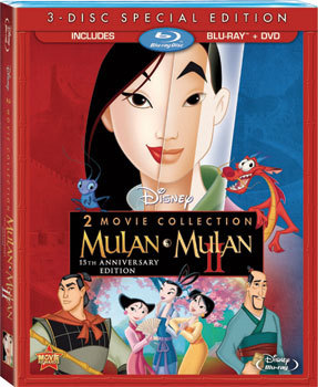 Mulan 2-Movie Collection 3-Disc Blu-ray Combo Pack Review