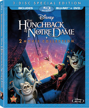 The Hunchback of Notre Dame 2 Movie 3-Disc Blu-ray Review