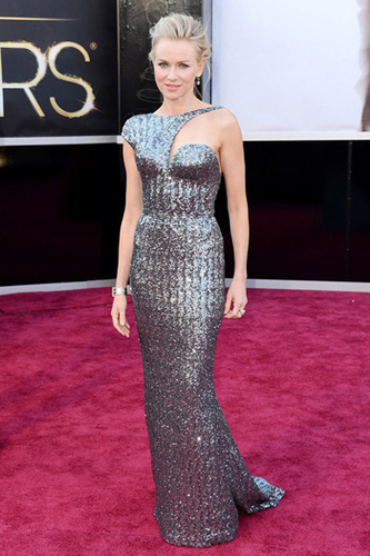 Naomi Watts is from the future in Armani